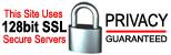 128 Bit SSL Secure Servers